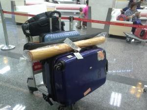 參展大小行李